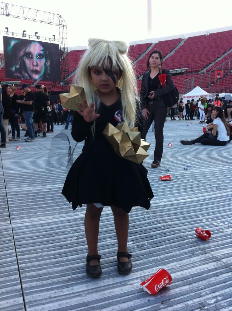 Los looks de los fanáticos de Lady Gaga en su concierto
