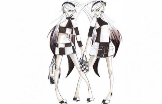 Alta costura virtual: Marc Jacobs y sus diseños para Hatsune Miku