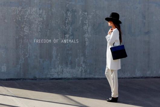 Freedom of Animals: Bolsos de cuero sintético, sustentable y de lujo