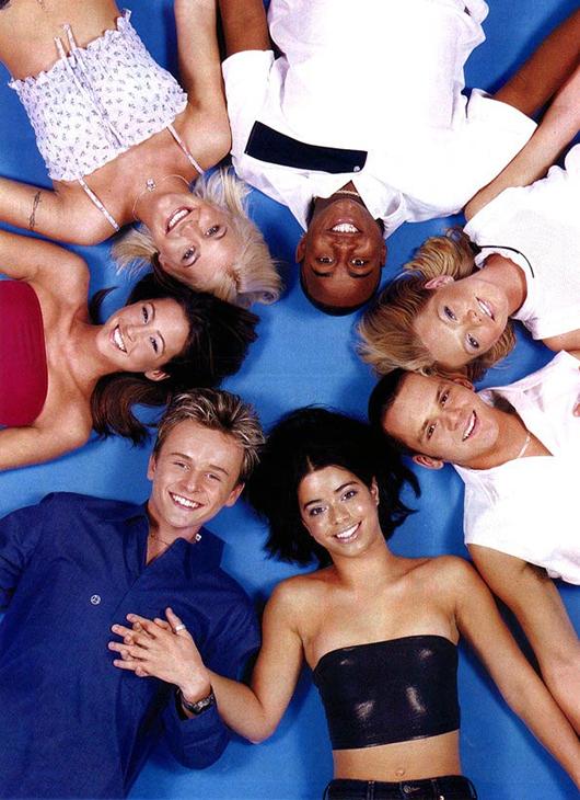 Estéticas juveniles de los 90: S Club 7