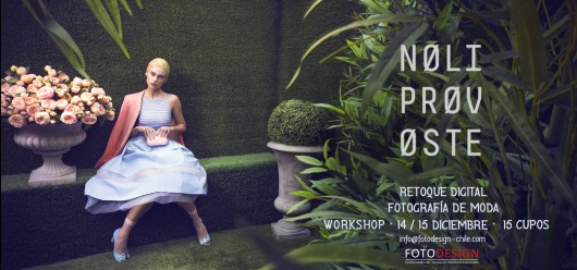 Concurso: Gana un cupo para workshop de Fotodesign con NoliProvoste