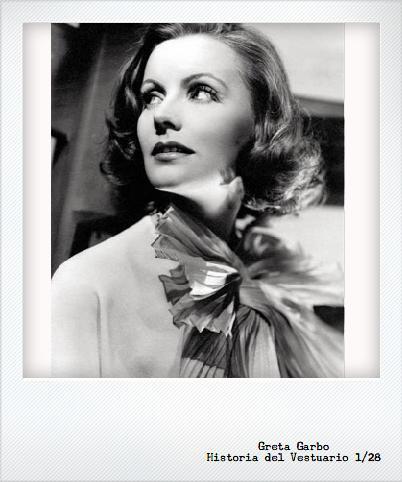 Cine y vestuario en la década del 30: Greta Garbo