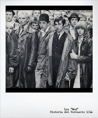 Primera parte: El movimiento Mod en los años 60's