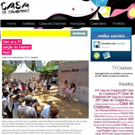 The Brazilian way (parte II): Casa de Criadores