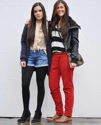 Claire y Sandrine
