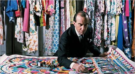 Pucci y la psicodelia en el diseño textil de principios de los 70 (Primera parte)