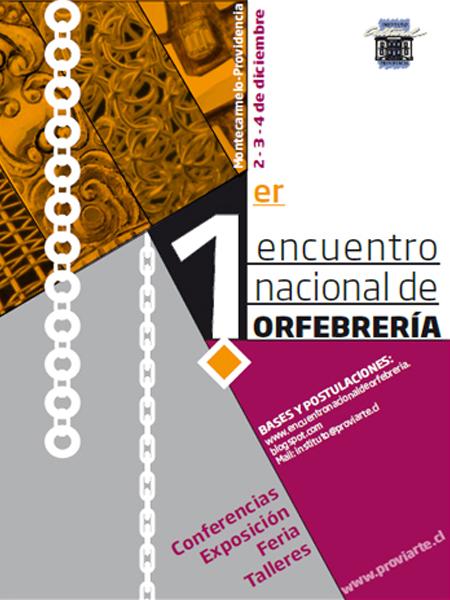 Encuentro Nacional de Orfebrería en Providencia