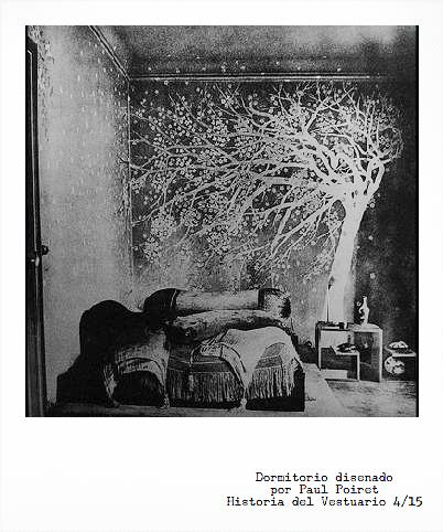 Vestuario + Perfumería + Sindicalismo + Diseño Interior + Arte = Paul Poiret