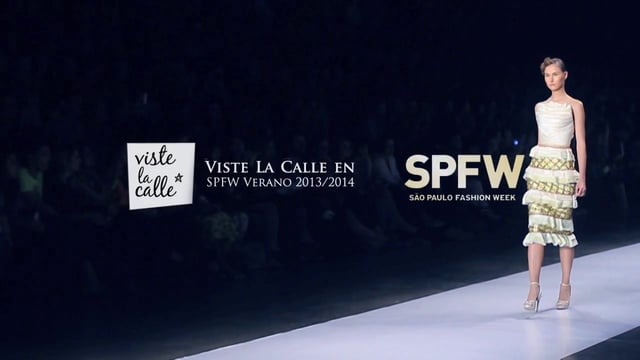 VisteLaCalle en Sao Paulo Fashion Week S/S 2014: Samuel Cirnansck