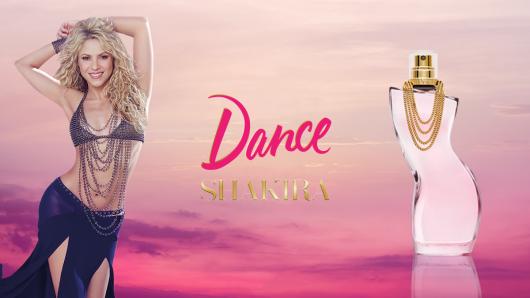 """Entrevista exclusiva: Shakira y su nueva fragancia """"Dance"""""""