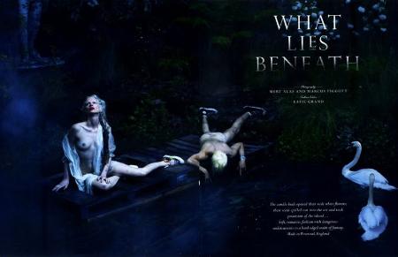 What Lies Beneath, la editorial de la polémica
