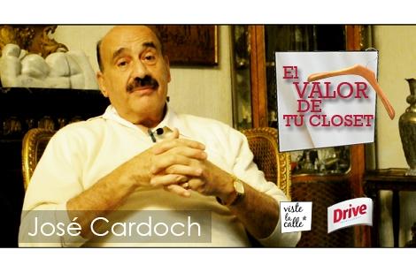El valor de tu clóset: José Cardoch