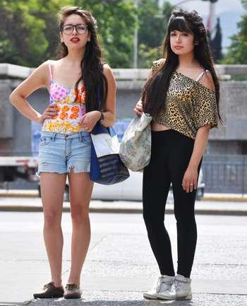 Camila y Michelle Nuñez