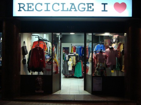 Nueva tienda: Reciclage I ♥