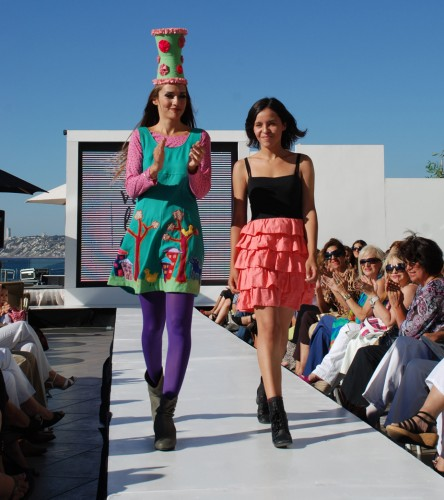 Rosita Tocornal en Viña D Moda por VisteLaCalle