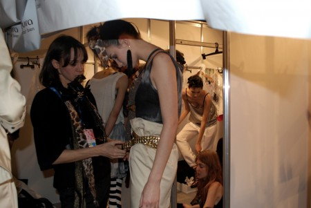 BackStage BAFWeek 2009