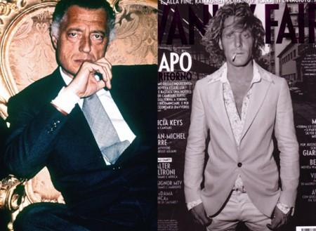 Estilo familiar, edición hombres: Gianni Agnelli y Lapo Elkann