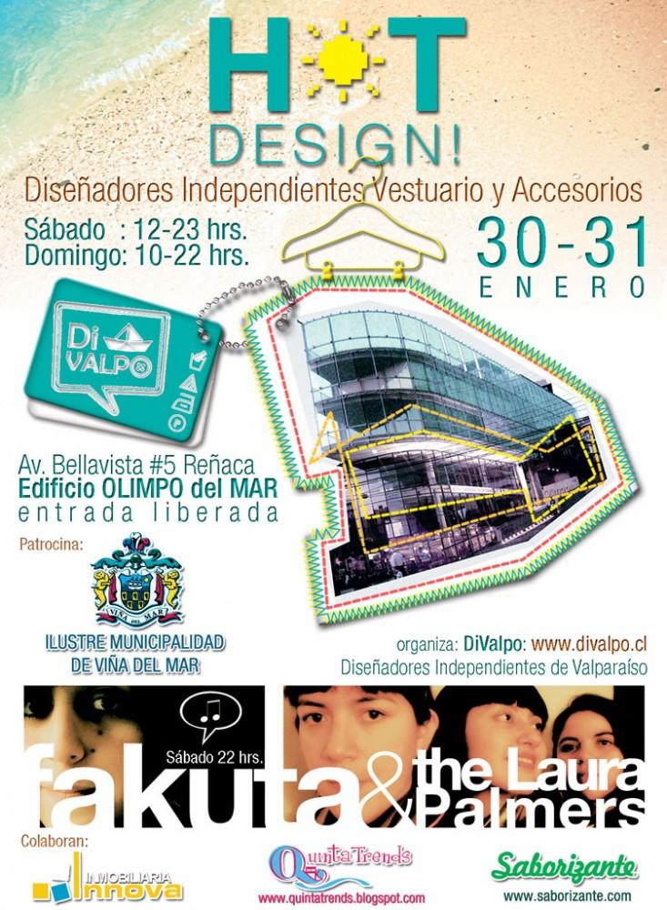 Diseño porteño en Reñaca: DiValpo, Hot-Design!