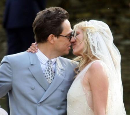 Kate Moss y Jamie Hince en Moss-stock boda