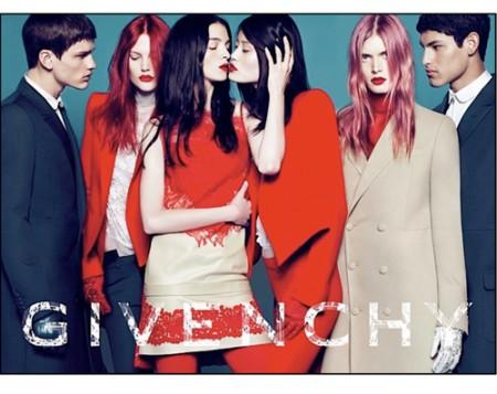 Givenchy y su modelo transexual