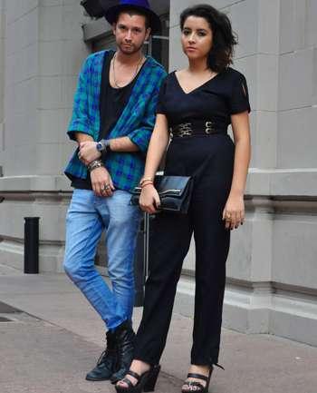 Juan Prendecki y Mariel Ramírez