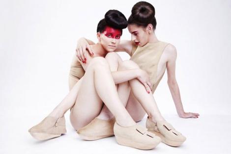 Julia Kaldy: zapatos que se funden en nuestras piernas