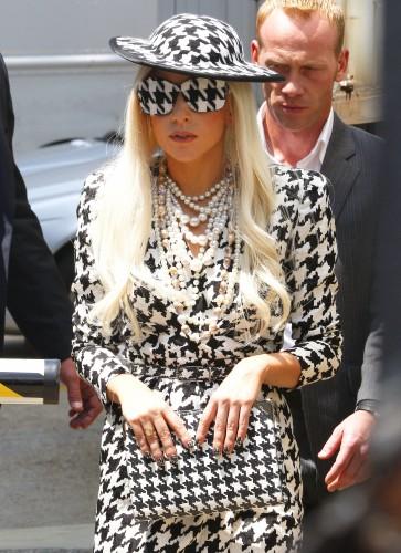 Lady Gaga y Ferragamo
