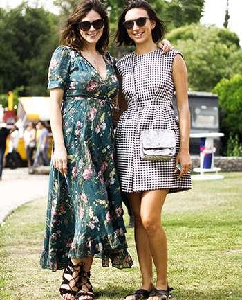 Laura Leiva y Christelle Cristiano