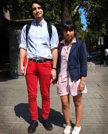 Maximiliano Macuer y Valentina Venegas