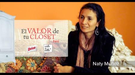 El Valor de tu clóset Perú: Naty Muñoz