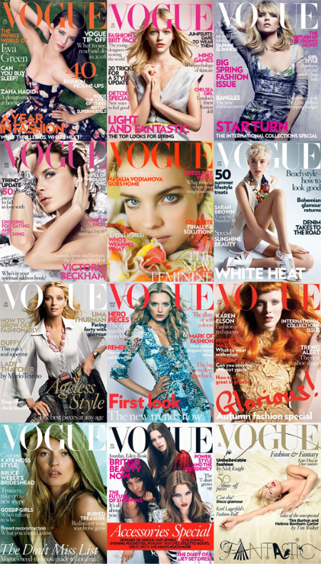 Strike a pose: Vogue alrededor del mundo