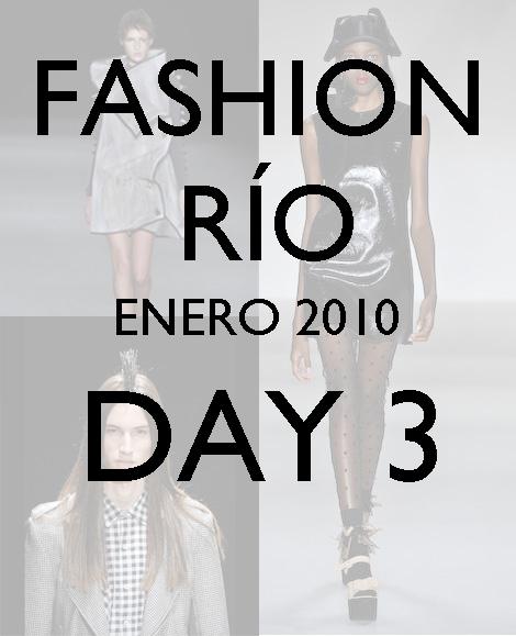 Fashion Río: Cavendish, Coven, Filhas de Gaia, Graça Ottoni y Mara Mac