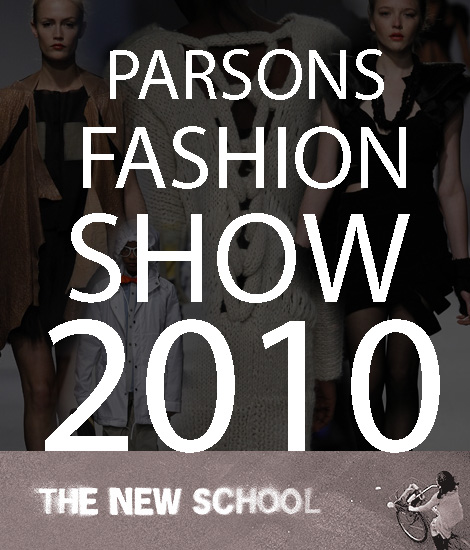 Parsons Fashion Show 2010