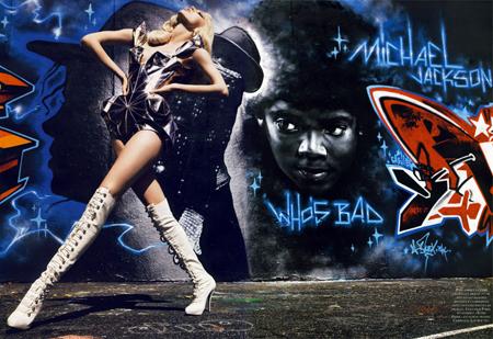 Graffi-Couture en Vogue París