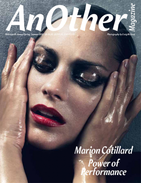 Marion Cotillard en Another Magazine