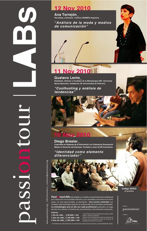 PASSIONTOUR LABs: 3 días de información en torno a la industria de la moda