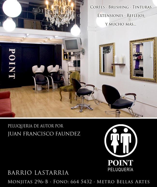 Viste Tu Pelo: Juan Francisco Faúndez para POINT Peluquería + Concurso