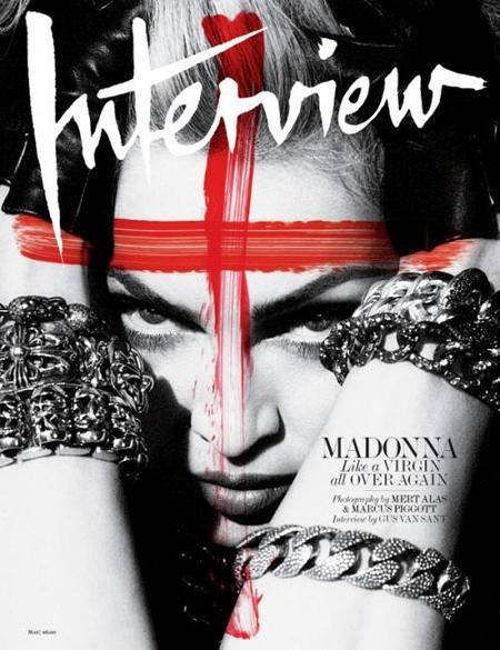 ¡Wow! Madonna en Interview Magazine
