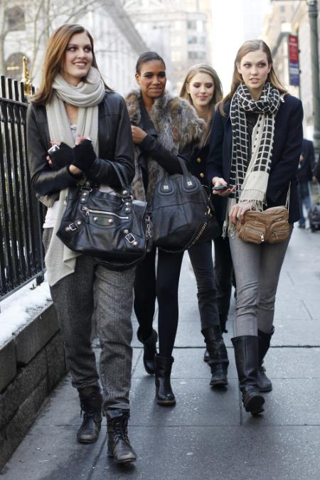 El street style de las modelos durante la temporada de desfiles (Parte II)