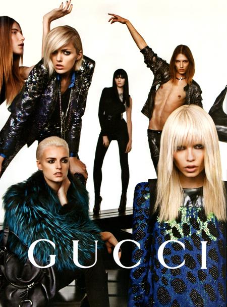 Campaña Gucci otoño/invierno 2009-2010