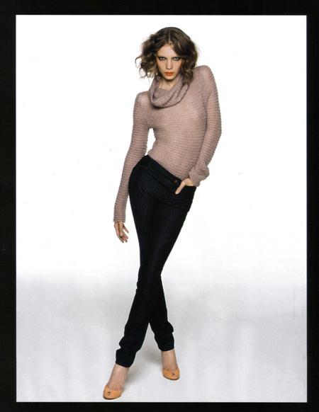 Jeans en Marie Claire