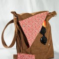 lindos bolsos de tela reciclada
