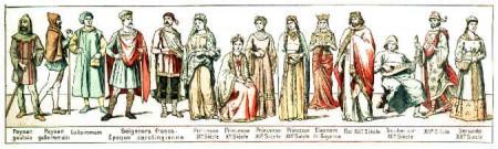 Vestuario Bizantino y Medieval