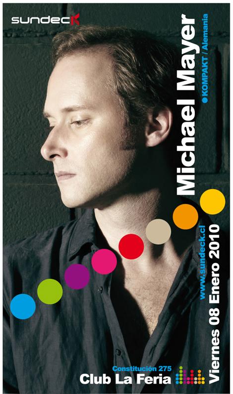 Michael Mayer en Chile y lo trae Sundeck