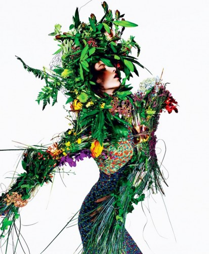 Moda Vegetal en T magazine