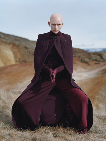 Tilda Swinton para W Magazine