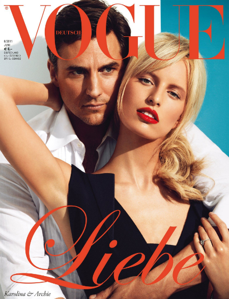 Strike a pose: Vogue en junio