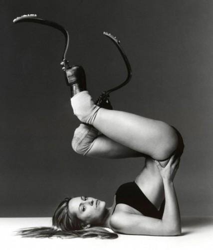 ¿Conocen a Aimee Mullins?