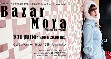 Bazar Mora cumple un año