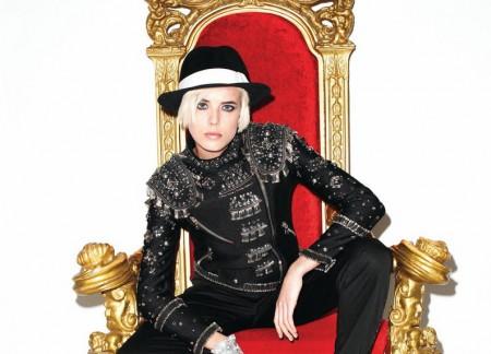 Agyness Deyn: diseñadora de vestuario